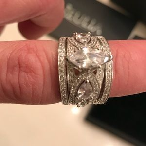 jeulia jewelry 3 piece wedding ring set never worn - 3 Piece Wedding Rings